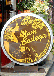 sign for MAMBODEGA